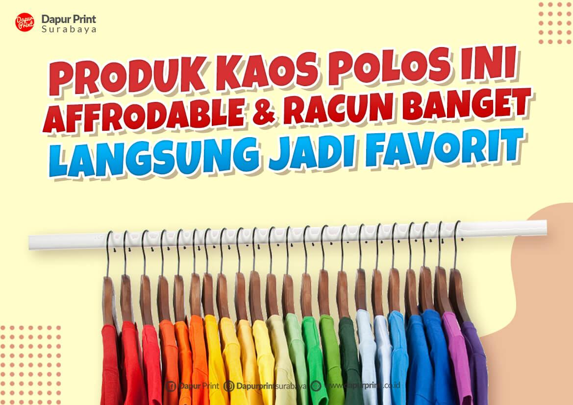 Baju Polos Murah surabaya 2021
