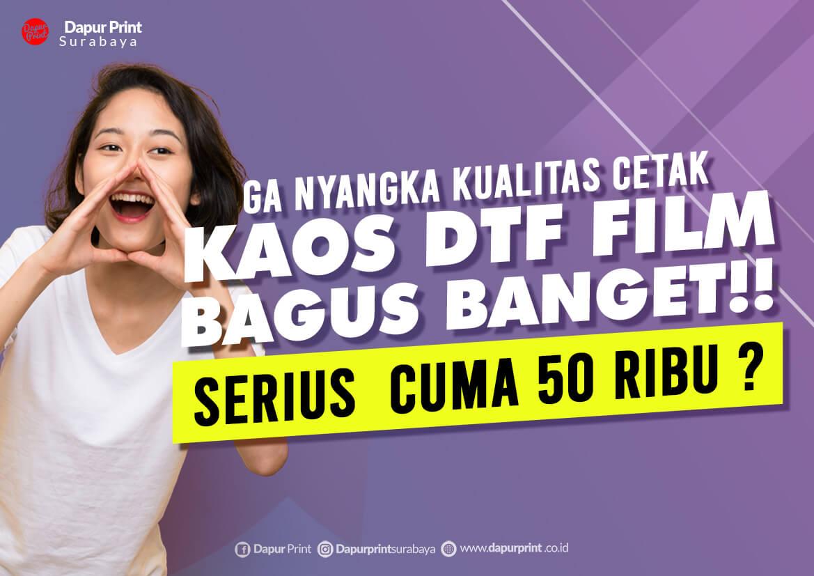 Jasa Cetak Kaos DTF A3 A4